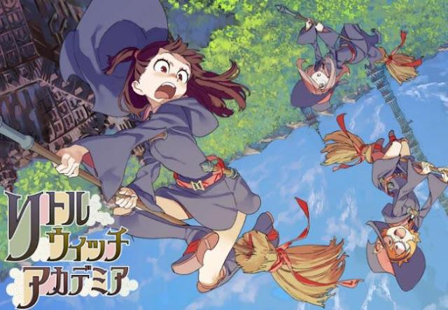 Anime Bagus Underrated  yang Jarang Ditonton/Direkomendasi - Little Witch Academia