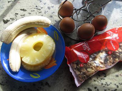 Bizcocho de piña y plátano Thermomix