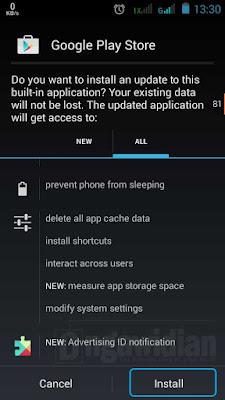 Cara Install Google Play Android