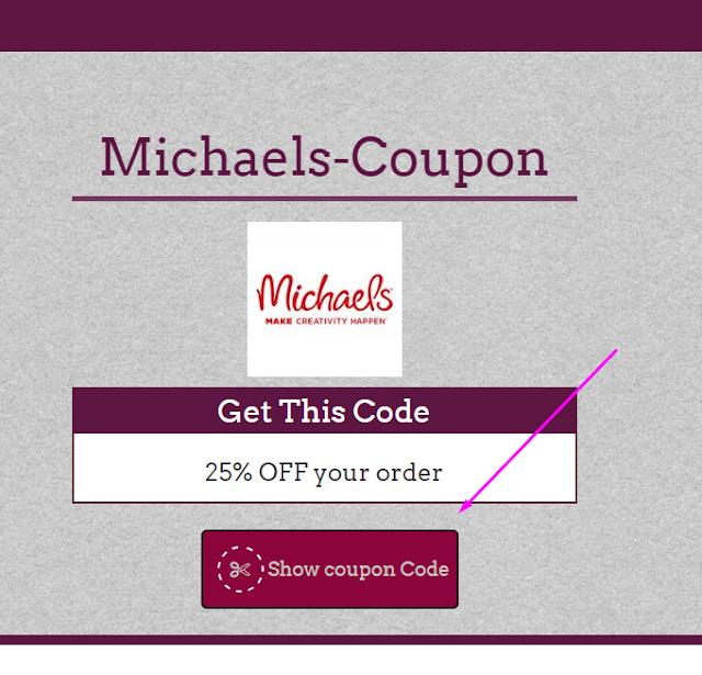 Michaels 35% Coupon Code May 2017