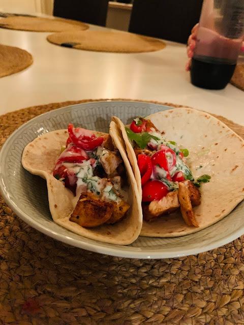 Kyckling Tacos