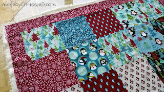 5 Step Guide To A Perfect Minky Quilt Back [Tutorial] by www.madebyChrissieD.com