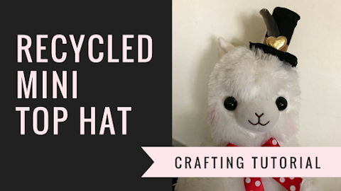 How to Make a Recycled Mini Top Hat DIY Tutorial