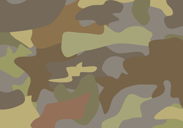 Free Brown Camouflage Vector