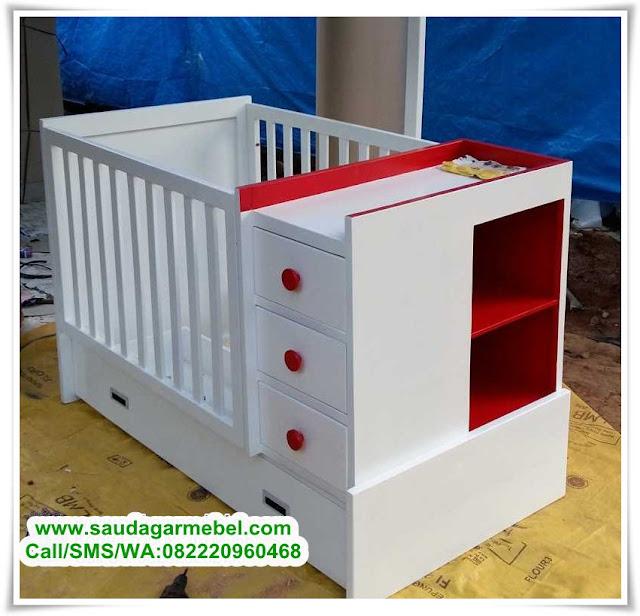 Box Bayi Jati Minimalis Terbaru, Box Bayi Kayu Jati, Box Bayi Minimalis, Box Bayi Jati Modern, Ranjang Anak Minimalis