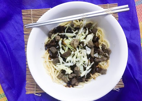 Ottogi Black Bean Sauce With Beef (쇠고기짜장) Review