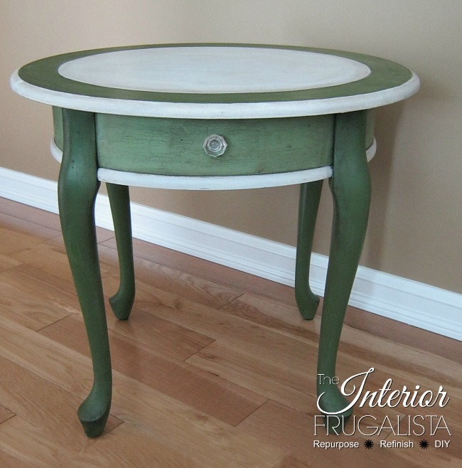 Curbside Queen Anne Makeover with milk paint