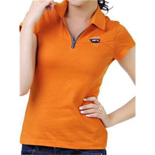 áo thun cá sấu màu cam giá rẻ tphcm