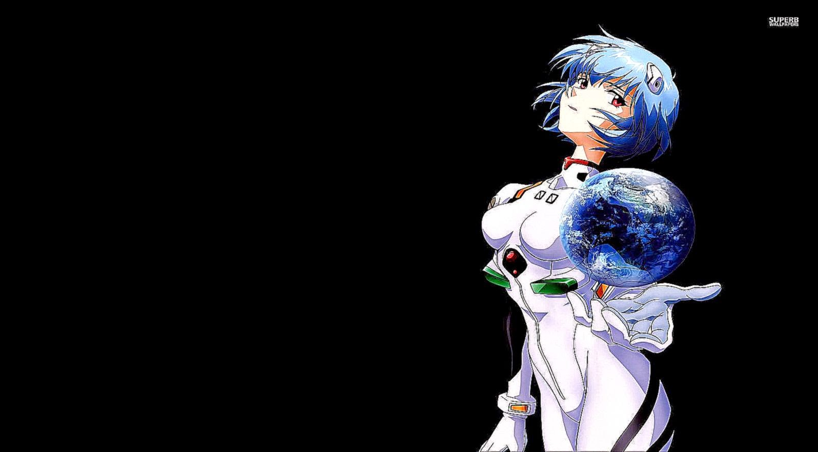 Abstract Rei Ayanami Anime Movie Wallpaper | Wallpapers ...
