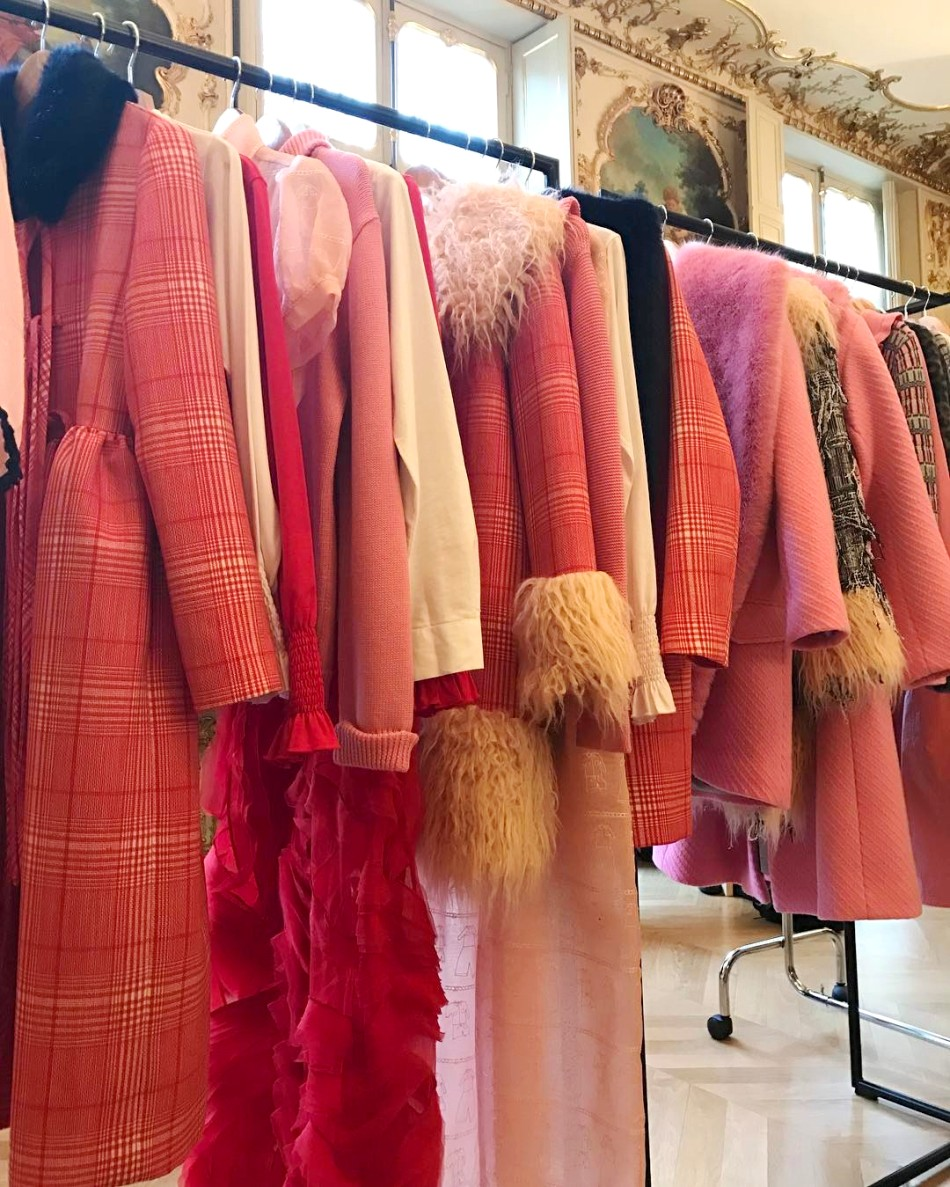 Faux Fur Pink Winter Coats
