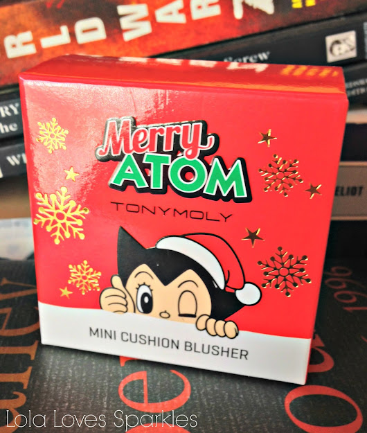 TonyMoly Merry Atom Mini Cusion Blusher [Limited Edition | Review]