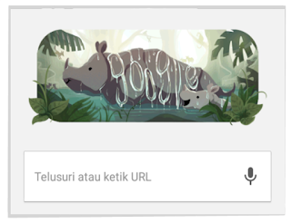 Google Doodle Badak