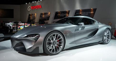 New Toyota Supra Mkv