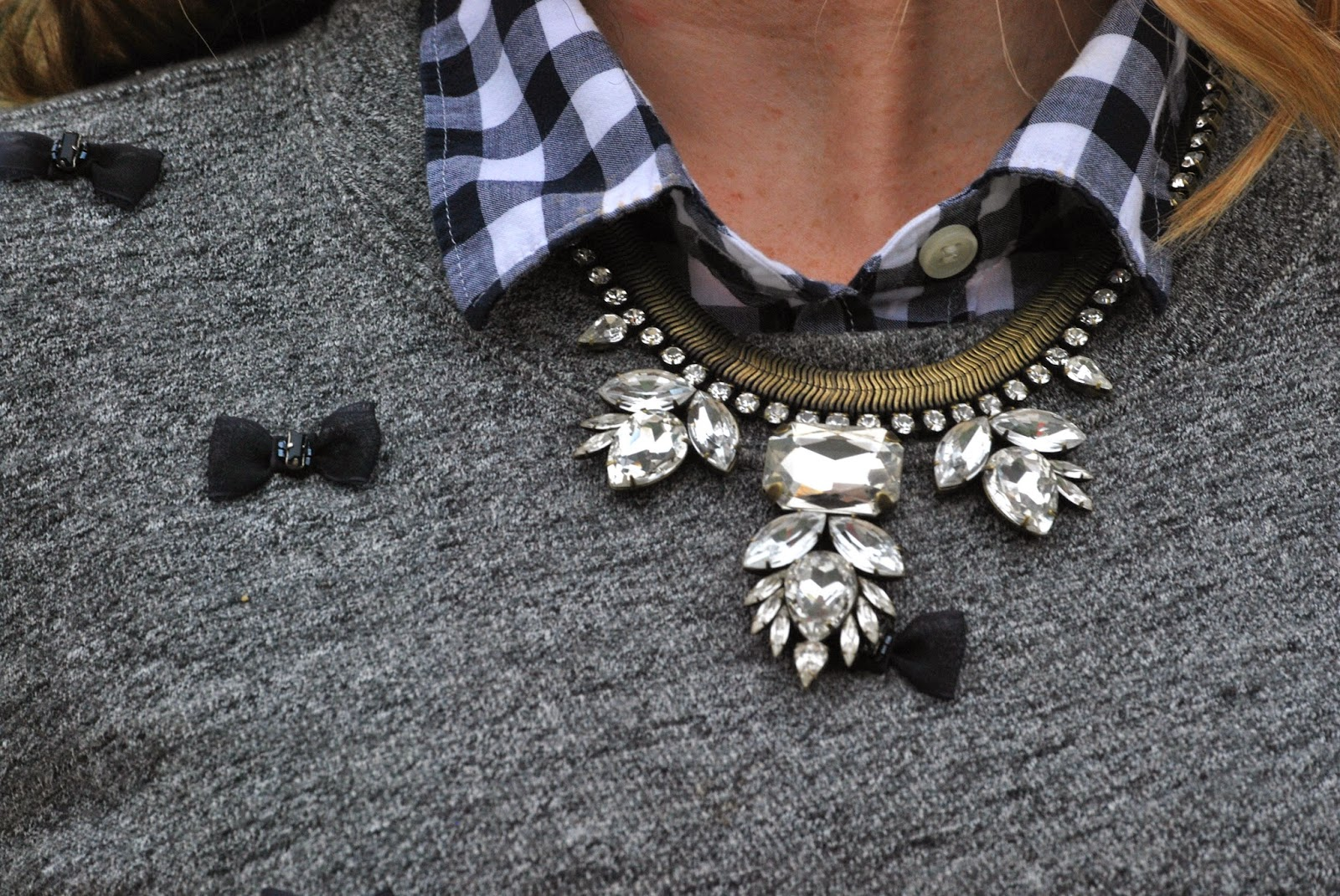 statement necklace, Loren Hope,