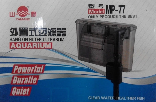Filter Aquarium Yamano MP 77 - Cara Budidaya Ikan