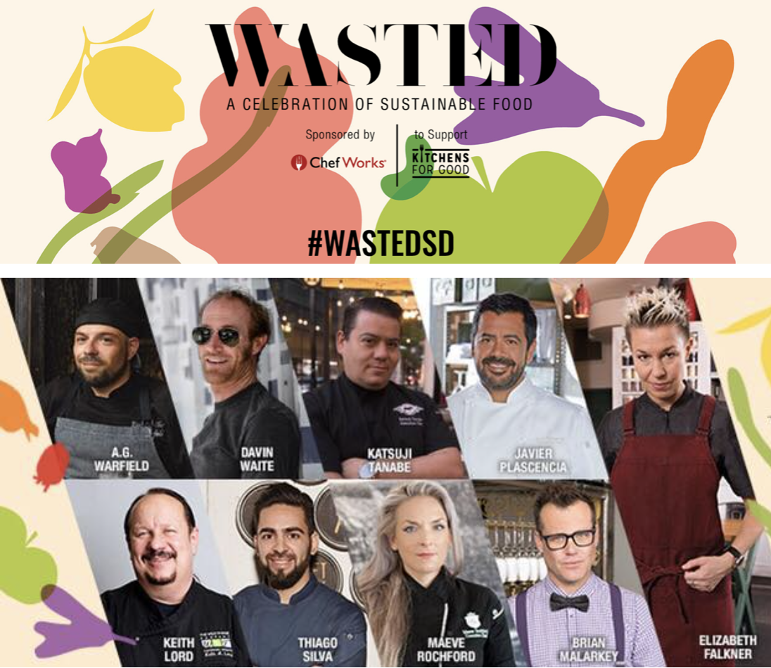 Don't Miss WASTED: A Celebration of Sustainable Food - October 14!