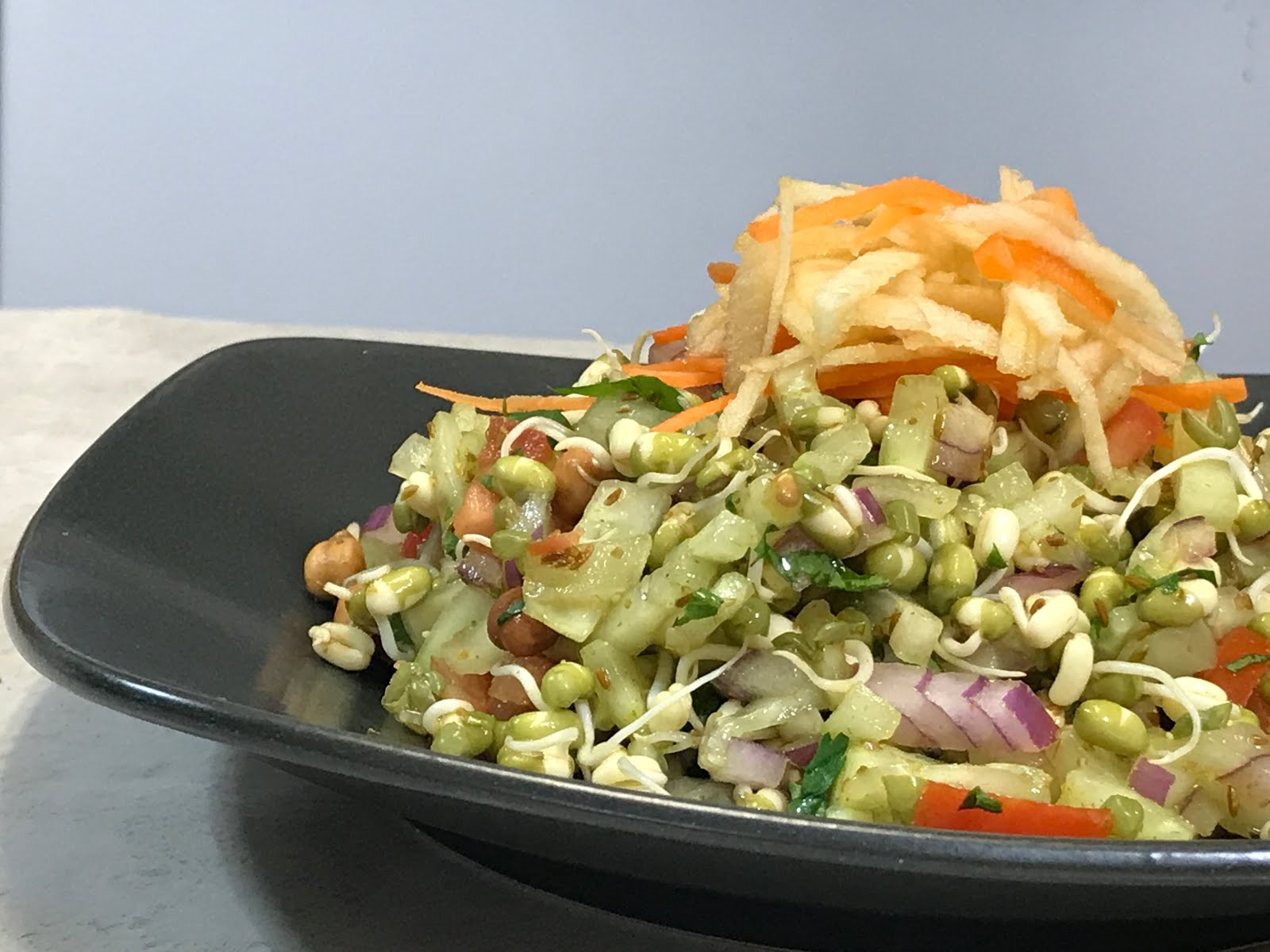 Moong sprout salad   Green moong salad   Weight loss diet