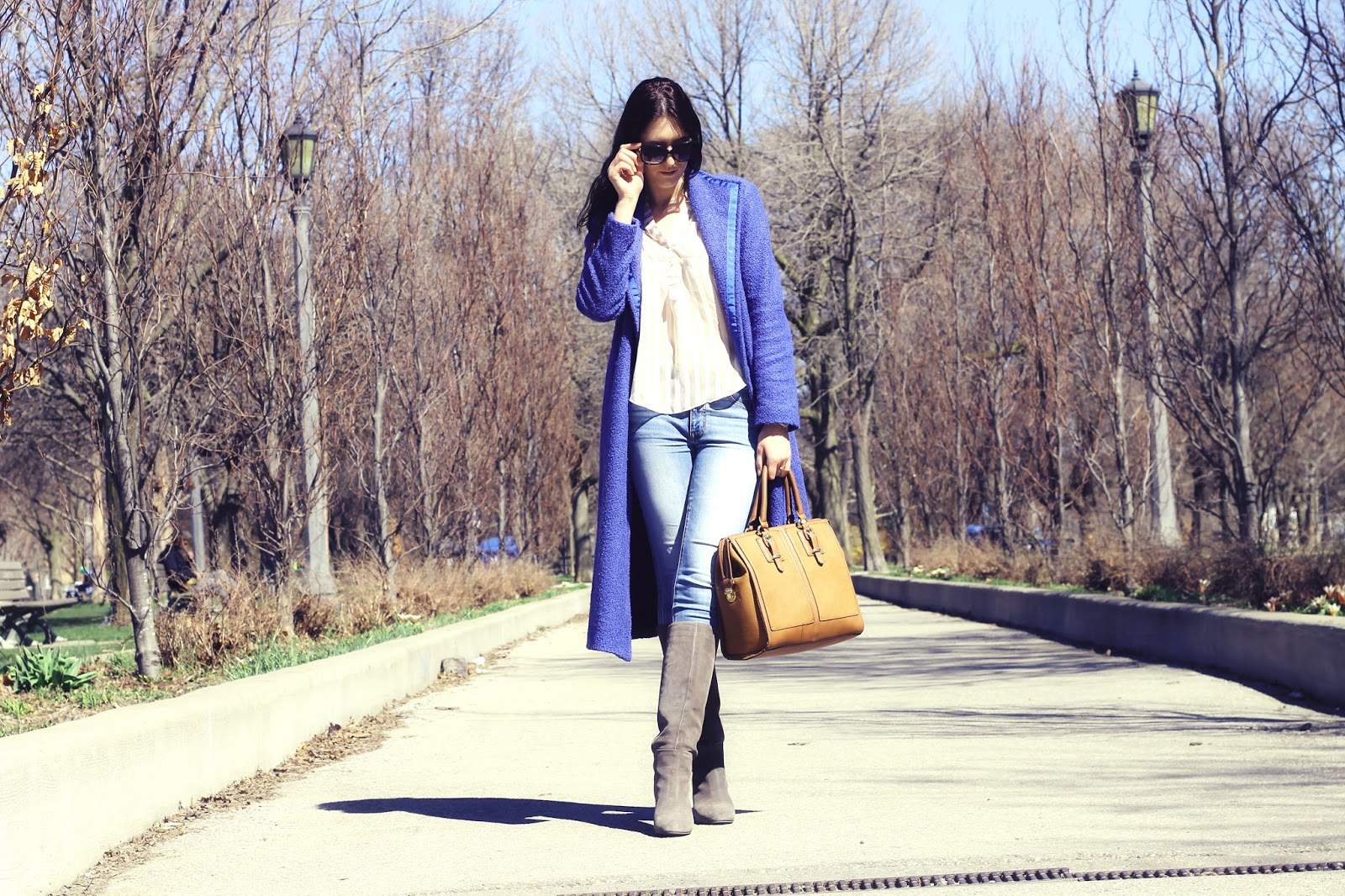 Blue Coat outfit