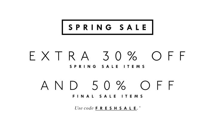J.Crew Aficionada: Online: Extra 30% Off Spring Sale, 50%