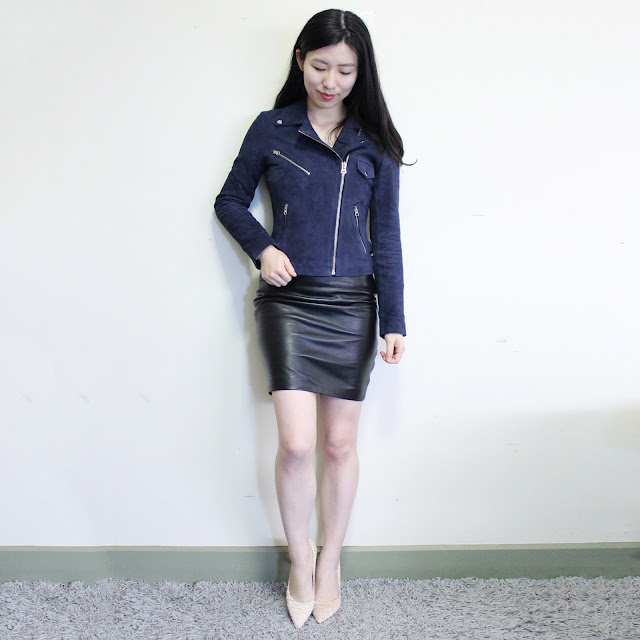 cole fashion, cole fashion review, cole fashion reviews, cole fashion blog review, cole fashion leather jacket, dana suede jacket, nicole sequeira, cole leather jacket, asos cole fashion, suede navy jacket