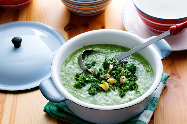 soups in winter? - Page 2 Kaleandspinachsoup