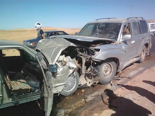 حادث مروري يودي بحياة شخص على الطريق الرابط بين ولاية السمارة ومدينة تندوف