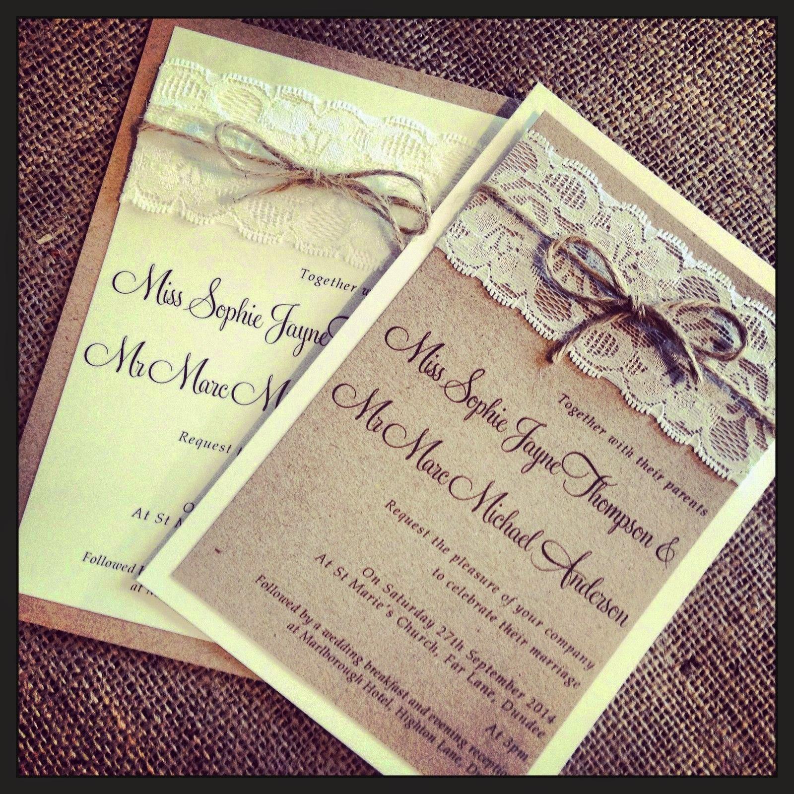 unique design wedding card invitation ideas