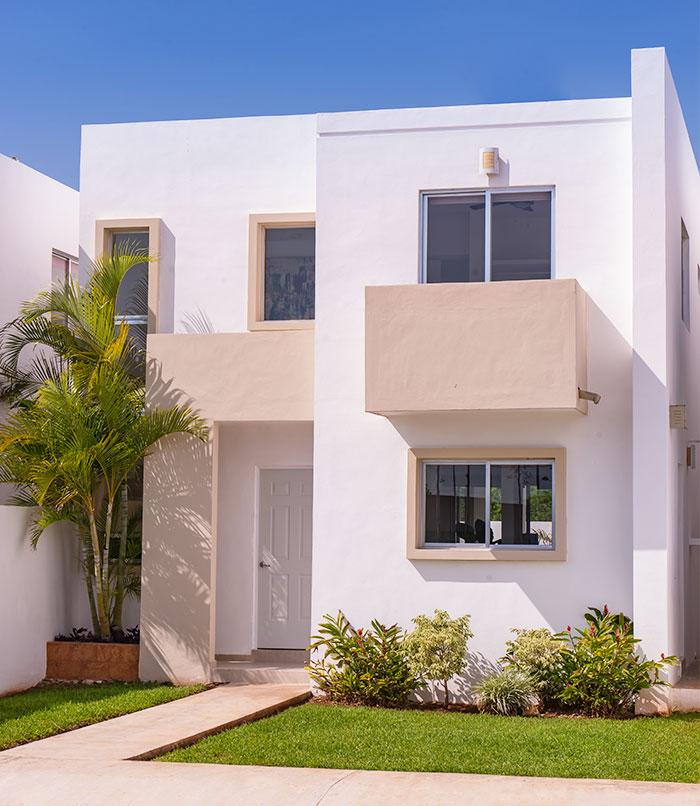 Fachadas mexicanas y estilo mexicano for Modelo de fachadas de viviendas