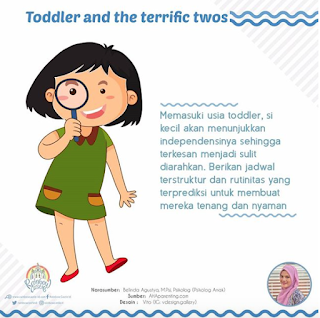 TODDLER AND TERRIFIC TWOS