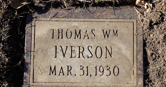 Wednesday's Child ~ Remembering Thomas William Iverson