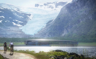 LOOK Floating ring-shaped hotel to open above Arctic Circle
