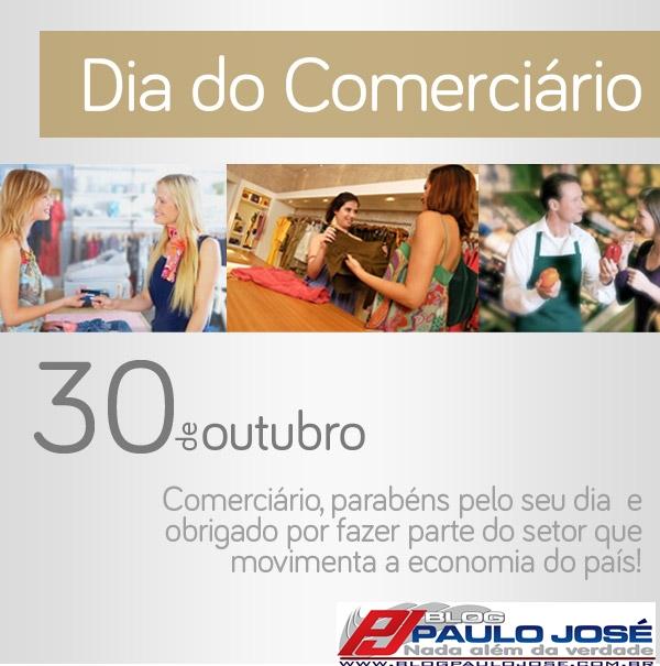30 DE OUTUBRO  DIA DO COMERCIÁRIO ... DO GINECOLOGISTA . d89f49f154807