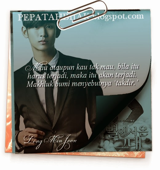Kutipan Drama Korea Quotes You Who Came From The Stars