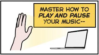 Flutter: Kontrol Musik dan Film dengan Gerakan Tangan