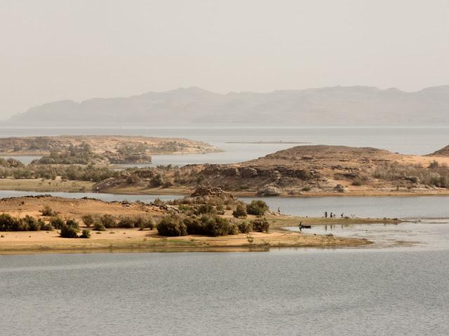 الصيد في بحيرة ناصر
