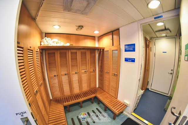 Star Cruises Superstar Libra 丽星邮轮 天秤号 3D2N 槟城 普吉岛 Penang Phuket starcruises libra Sauna Room