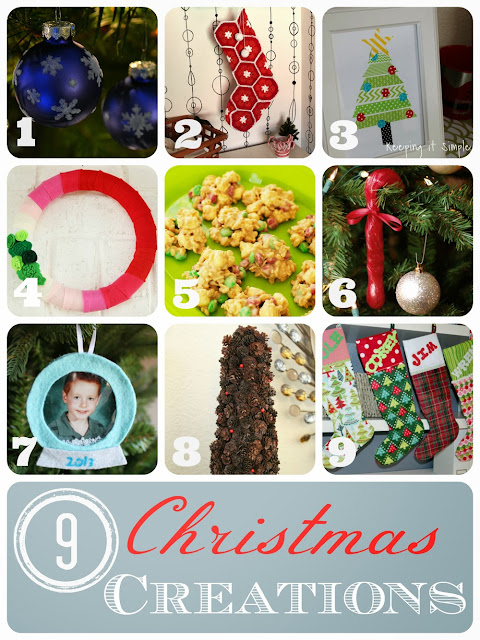 9 awesome Christmas Creations
