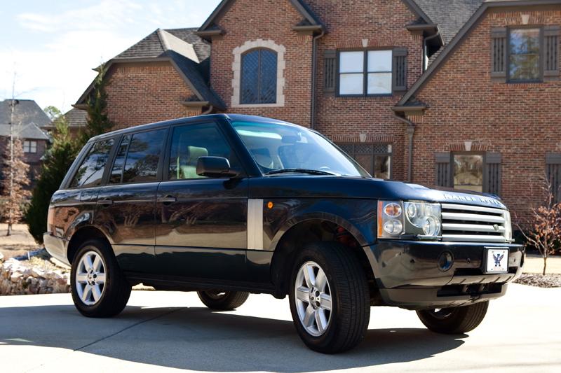 duffy 39 s garage 2003 range rover hse suspension conversion. Black Bedroom Furniture Sets. Home Design Ideas