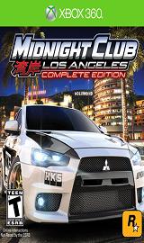 midnight club los angeles remix xbox 360 - Midnight Club Los Angeles Complete Edition (2009/ENG/XBOX360/RF