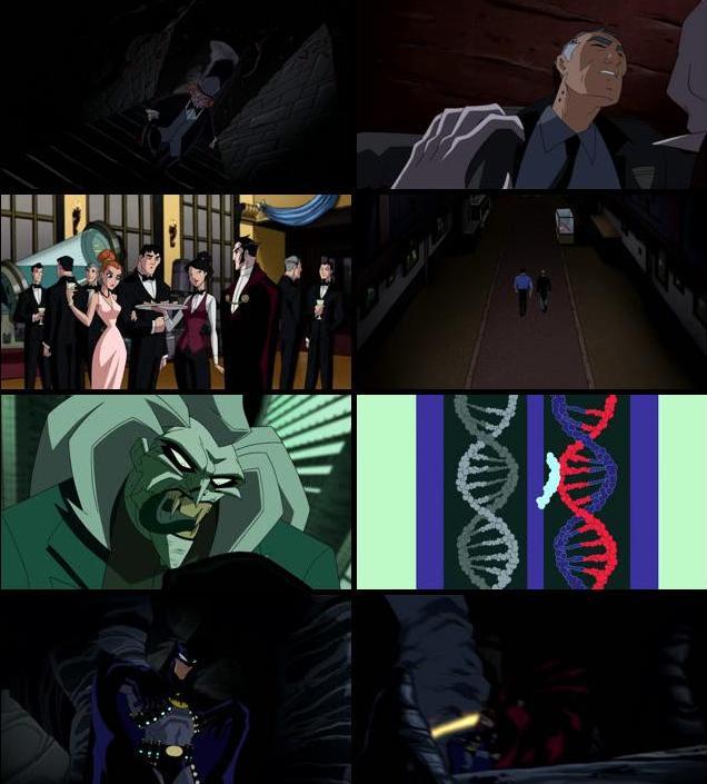The Batman vs Dracula 2005 Dual Audio Hindi HDRip