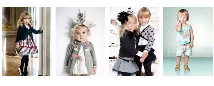 Itališki rūbai vaikams