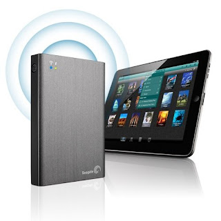 Hard Disk Eksternal Seagate Wireless 1TB Streaming Tanpa Kabel