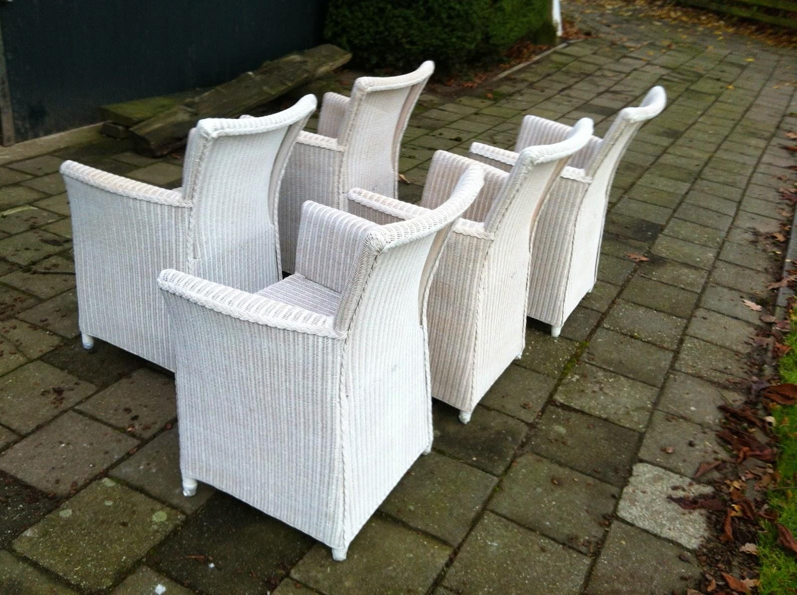 New Restylelin: DIY: rieten stoelen vergijzen! #NK95