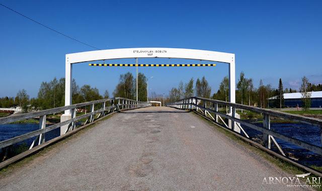 Eteläkylän Isosilta, Pyhäjoki