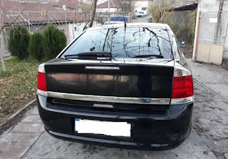 rear Opel Vectra C
