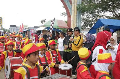 Kabupaten Pringsewu Raih Rekor MURI Drumband Terbanyak