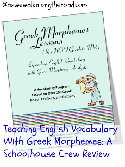 Teaching English Vocabulary With Greek Morphemes: A Schoolhouse Crew