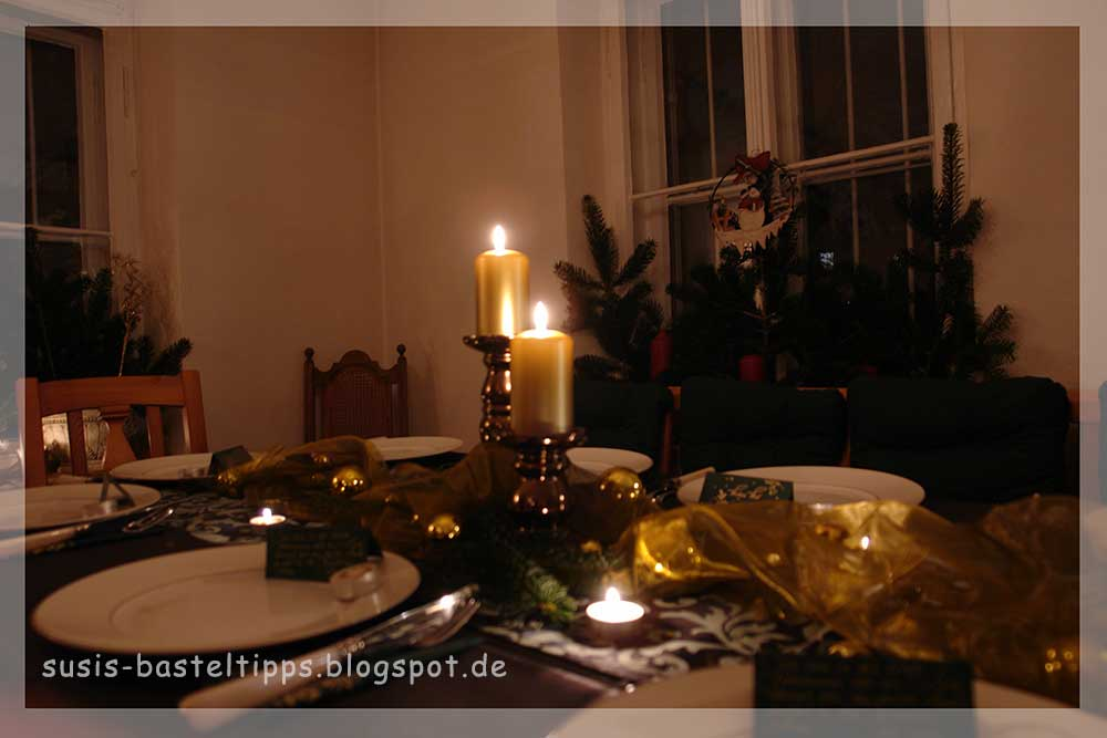 Susi 39 s basteltipps frohen zweiten advent und nikolaus for Tischdeko advent