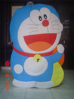bed cover doraemon
