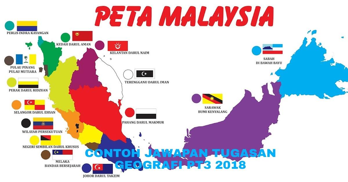 Contoh Jawapan Tugasan Geografi PT3 2020 Folio - MY PANDUAN